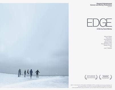 Edge film poster for BAFTA nominated Carol Morley