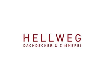 Hellweg Dachdecker/ Roofer Corporate Design