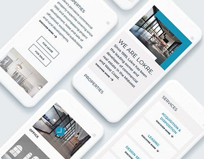 Lokre Group Real Estate Rebranding (CASE STUDY)