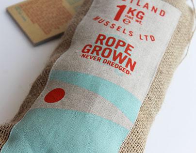 'Shetland Mussels LTD' Rebrand & Packaging