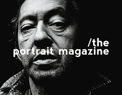 THE PORTRAIT MAGAZINE - Serge Gainsbourg