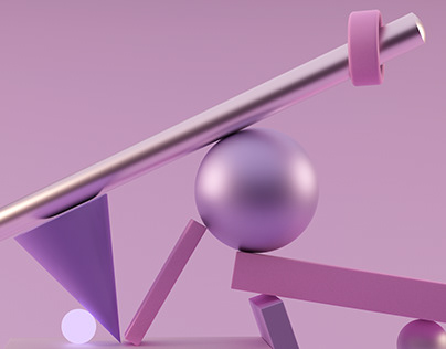 This BALANCE has no rules. C4D