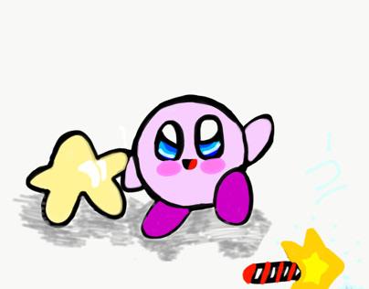 Kirby/ Warp Star