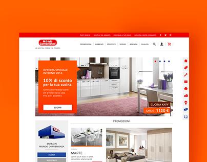 Mondo Convenienza Website Proposal