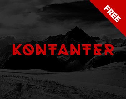 Kontanter | FREE FONT