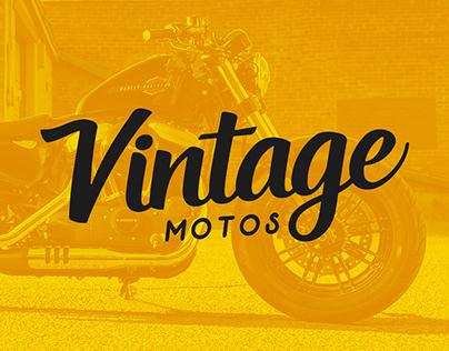 Identidade visual Vintage Motos