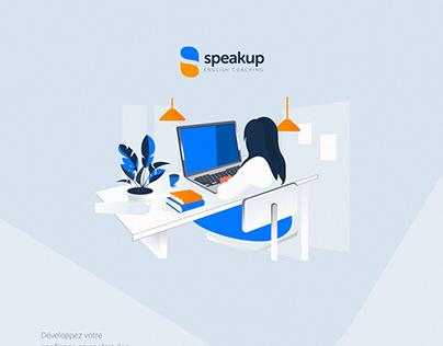 Speakup English Coaching design