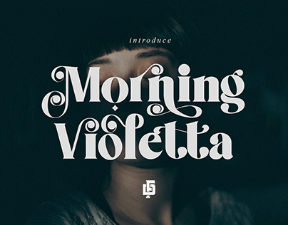 Morning Violetta Typeface