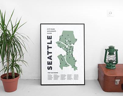 Seattle City Park Map