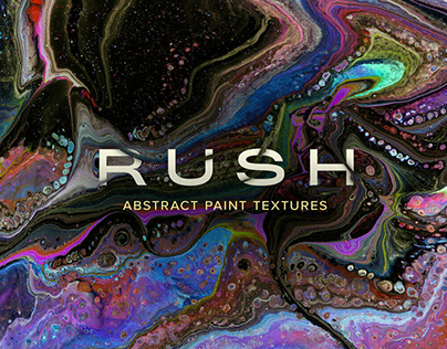 Rush Super Hi-Res Abstract Textures by Chroma Supply