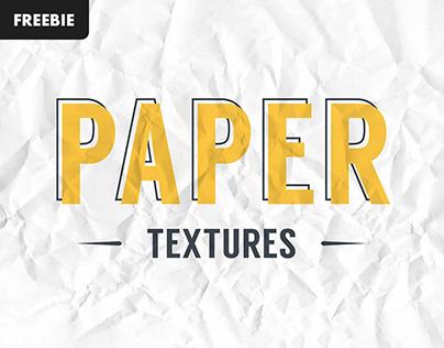 Free Download: Crumpled Paper Textures Set