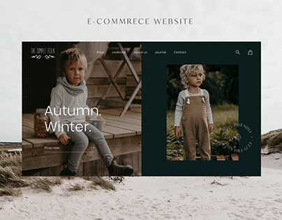 E-commerce website - The Simple Folk