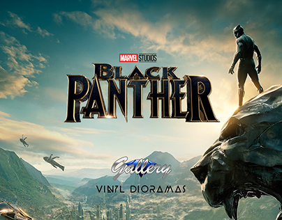 Black Panther - Vinyl Dioramas