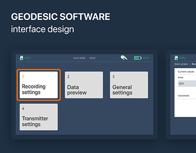 UX/UI for geodesign software