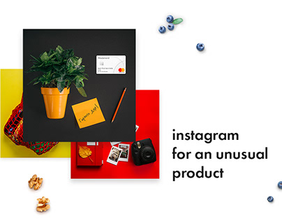 Instagram concept for Mastercard
