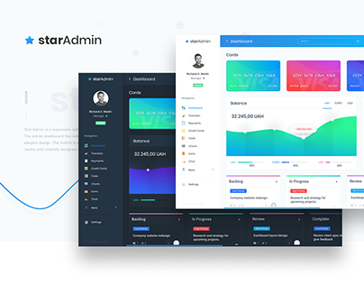 Star Admin - Responsive Admin Dashboard