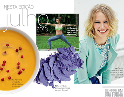 Editorial   revista BOA FORMA - Abril