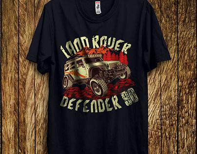 Land Rover Adventure Tee | Car T-shirts Design