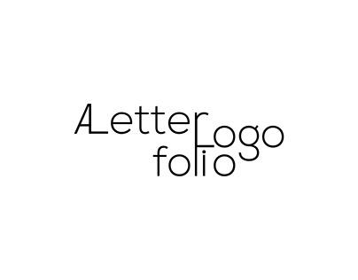 A Letter Logofolio, Free Download Ai File