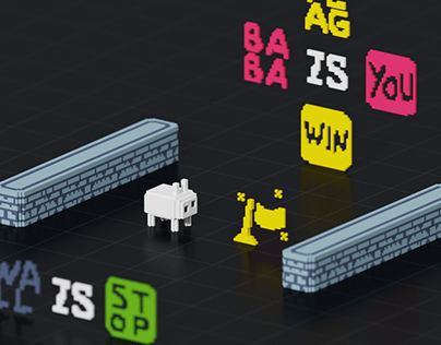 Voxel Baba Is You