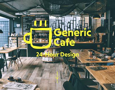 Generic Café Website Design