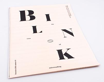 Blink - The ease of misreading