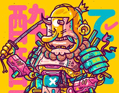 Simpson Samurai