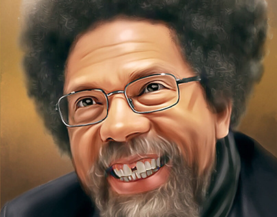 Dr Cornel West Digital Painting