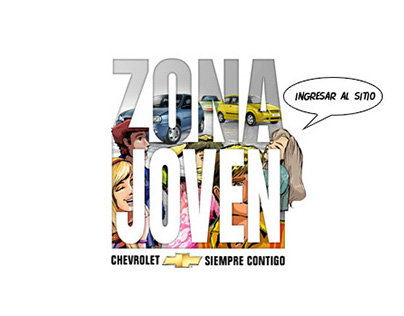 Zona Joven / Minisite