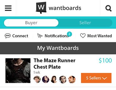 Wantboards App