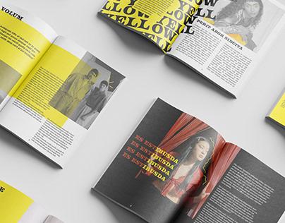 YELLow - Magazine layout