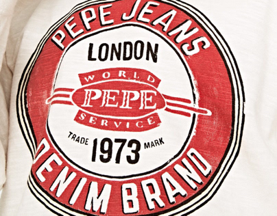 Pepe Jeans - Mens and kids graphics