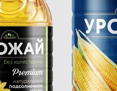 Urozhaj Corn and sonflower oil