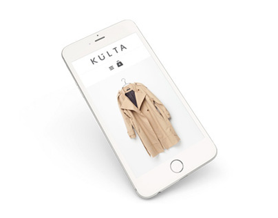 KULTA CLOTHING - website + e-commerce