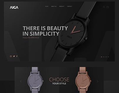 Wristwatch Aiga