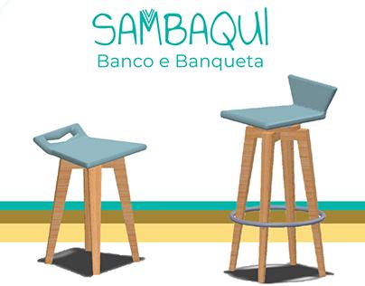 Banquetas Sambaqui
