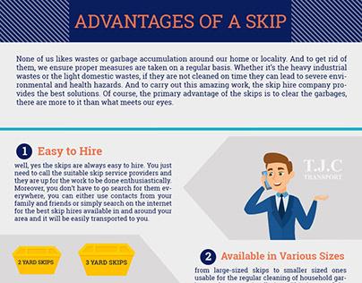 Advantages of a skip hire
