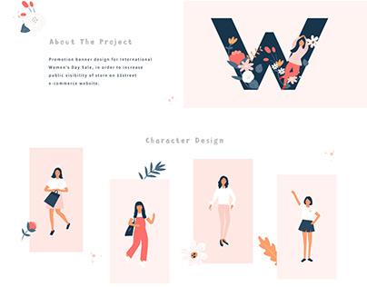 International Women's Day - Promotion Banner Design
