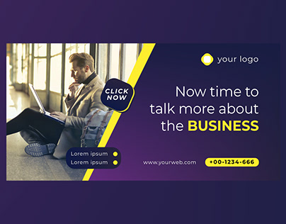 Linkedin Business Page Cover Template Design