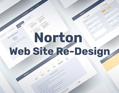 Norton Web Site Re-Design