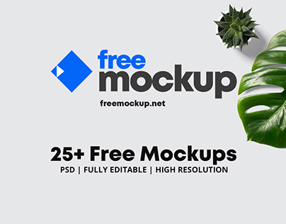 25+ Free Mockups PSD Trendy for 2021!