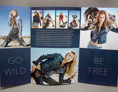 Bella Blue Tri-Fold Brochure