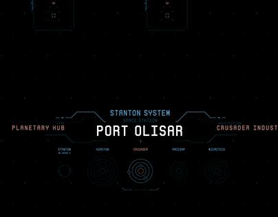 Port Olisar Wallpaper - Star Citizen (fanart)