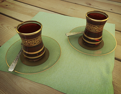 """Ramadhan kareem"" Teaset"