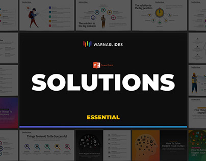 Solutions/Ideas PowerPoint Template (FREE DOWNLOAD)