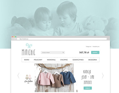 Minichic – beautiful clothing store for children