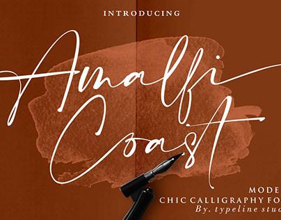Amalfi Coast // Chic Calligraphy
