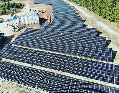 Neuhardenberg Solar Park Germany