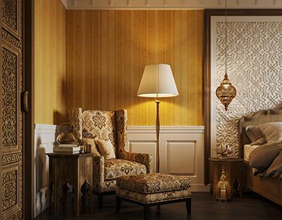 Bedroom in Marroccan Style