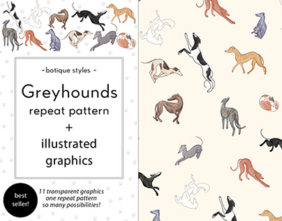 Greyhound Graphics for License